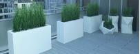 Donice plastikowe ozdobne do domu ogrodu na taras