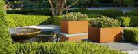 Donice ogrodowe prostokątne i kwadratowe na zewnątrz